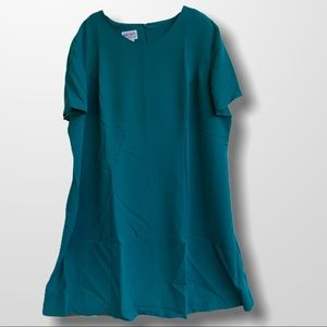 NWT Teal Plus Size Swing D…